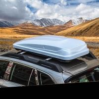 适用于斯巴鲁森林人XV傲虎汽车行李架箱SUV车顶行李架横条改装 红色 400升-黑色行李箱 1个