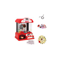迷你抓娃娃机夹娃娃机小型儿童玩具家用夹公仔机投币 FDE510娃娃机