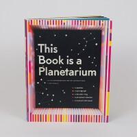 【现货】英文原版 天文馆立体书 This Book Is a Planetarium 神奇的纸创造:扬声器、弦乐器、星