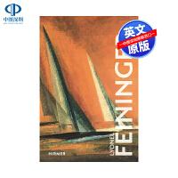 英文原版 莱昂内尔费宁格 精装人物自传 Lyonel Feininger (Great Masters in Art)