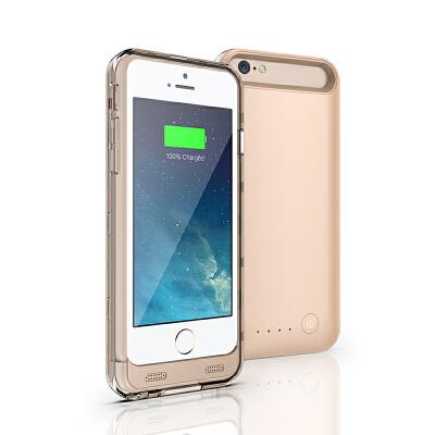 苹果iphone6/6S手机充电宝 手机背夹电池 超薄大容量移动电源 手机壳正品3100mah毫安 支持苹果iOS系统 苹果MFi正版认证原装接头