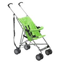 库存出口婴儿推车儿童超轻便携冬夏简易折叠小婴儿车宝宝四轮伞车 绿色无扶手 不可躺