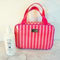 化妆包大容量简约便携洗漱包化妆箱手提防水收纳女大号韩国可爱