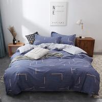 彩阳北欧简约四件套全棉纯棉学生床单被子被套单双人宿舍床上用品