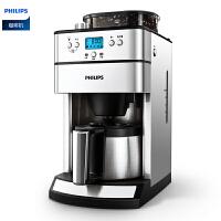 �w利浦(PHILIPS) 咖啡�CHD7753 全自�蛹矣媚ザ贡�� 豆粉�捎� 可�A�s式咖啡�C �y色