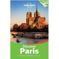 现货英文原版 Lonely Planet Discover Paris 3 孤独星球法国巴黎