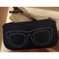 旅行太阳镜袋墨镜袋子眼睛袋眼镜袋收纳包男女眼镜盒 眼镜袋深蓝色