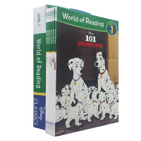 英文原版 World of Reading Disney Classic Characters迪士尼经典6册盒装 【4-8岁】