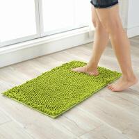 雪尼尔地垫门垫进门脚垫家用卧室客厅厨房卫浴卫生间防滑吸水地毯