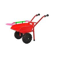 儿童玩具车宝宝玩沙子玩土大号挖沙铲子小孩工程车手推车玩具车 红色 【双轮】