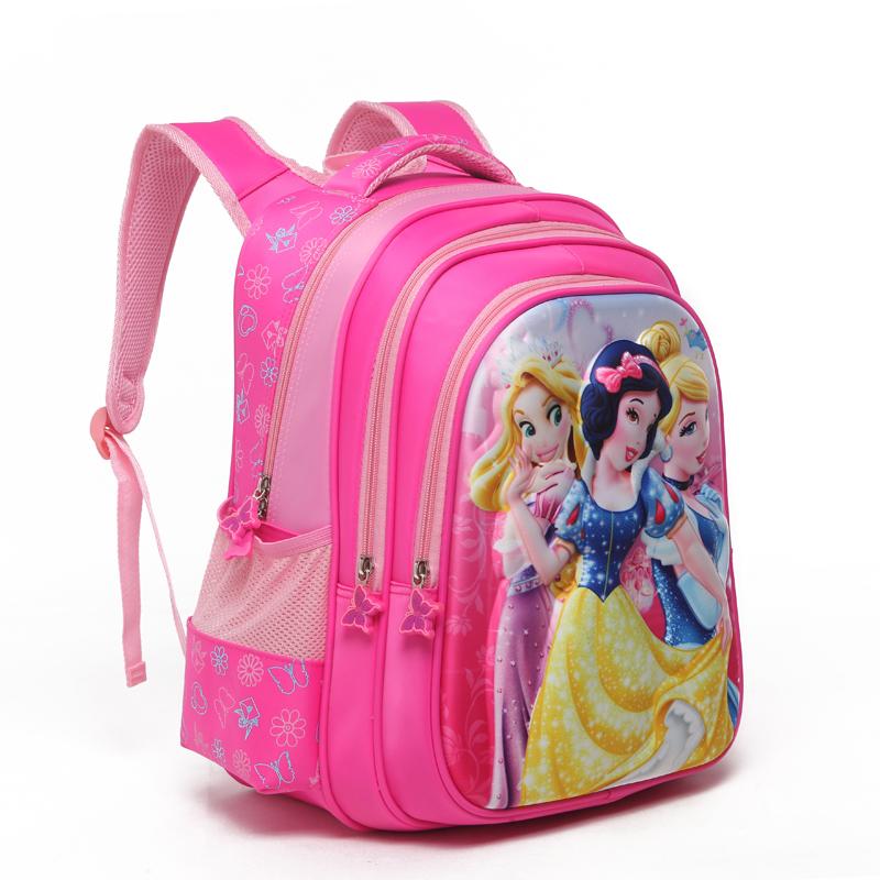 书包小学生 女 白雪公主女童一二年级宝宝可爱女孩幼儿园儿童书包