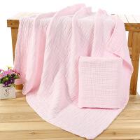 纯棉纱布婴儿浴巾新生儿浴巾宝宝柔软全棉儿童毛巾被盖毯吸水加厚