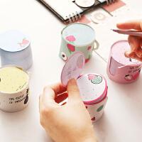 便利贴韩国可爱小清新杯子造型水果N次贴创意日本留言学生记事贴