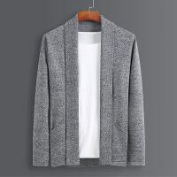 春季男士开衫薄款韩版潮流个性外套针织衫披风英伦毛线衣