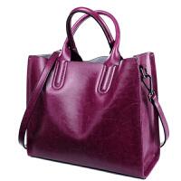 皮女包2018新款手提包女大包大容量包包斜挎简约牛皮通勤托特包