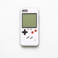 个性网红游戏机手机壳 俄罗斯方块X苹果7plus/iPhone8网红手机壳Q iphone6p/6s plus-白色
