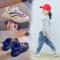 哈皮安妮 儿童运动鞋2018春秋新款韩版女童休闲鞋男童跑步鞋透气防滑潮