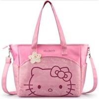 HELLO KITTY妈咪包待产母婴包大容量单肩斜挎包手提旅行袋