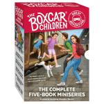棚车少年伟大冒险系列5册盒装 英文原版 The Boxcar Children Great Adventure 美国经