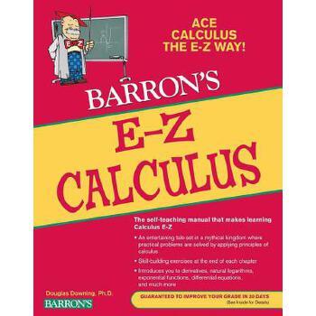 【预订】Barron's E-Z Calculus 预订商品,需要1-3个月发货,非质量问题不接受退换货。