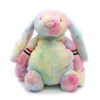充电热水袋新款彩色兔子暖手袋可爱少女风暖宝宝货源 彩色兔子