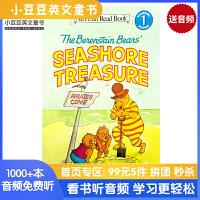 英文原版 The Berenstain Bears' Seashore Treasure