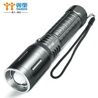 强光手电筒T6L2可充电变焦超亮户外家用远射灯