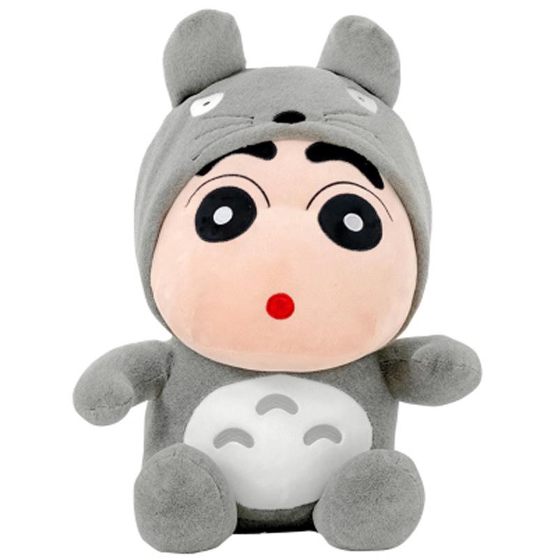蜡笔熊猫龙猫小新公仔毛绒玩具熊布娃娃韩国萌玩偶女生可爱送女友 发货周期:一般在付款后2-90天左右发货,具体发货时间请以与客服协商的时间为准