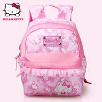 Hello Kitty凯蒂猫 KT1048粉红 韩版甜美淑女幼儿园书包儿童书包 当当自营