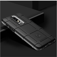 诺基亚7.1 plus手机壳三防摔8.1厚TPU软壳Nokia x7硅胶x3全包边磨砂防滑3.1指纹 【护盾nokia