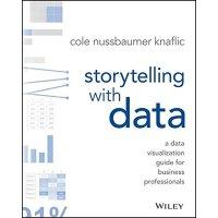 预售 英文原版 用数据讲故事 数据分析专家、 前Google人力分析团队经理 科尔・努斯鲍默・纳福利克 Storytel