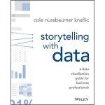 英文原版 用数据讲故事 数据分析专家、 前Google人力分析团队经理 科尔・努斯鲍默・纳福利克 Storytelli