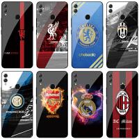 荣耀8xmax玻璃手机壳尤文AC米兰国米皇马梅西曼联阿森纳利物浦