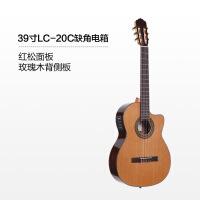 更专业的单板古典吉他演奏电箱面单39寸36寸吉它 电箱