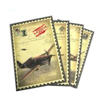 二战英豪笔记本 日记本 B5 160张 本子 B5图案随机