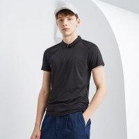 【1件3折,叠券价约:25.5】美特斯邦威Polo衫男夏季新款男都市休闲舒适短袖恤