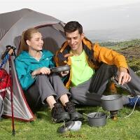 户外套锅野餐具用品野外炊具套装露营野营便携野炊锅具 2-3人