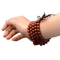 非洲小叶紫檀手串2.0顺纹红木赞比亚男女情侣款士念佛珠手串手链