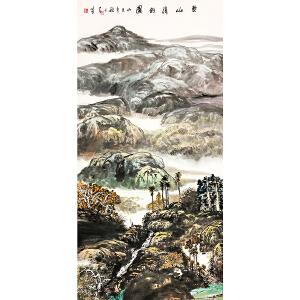 邓子芳《黎山清韵图》著名画家