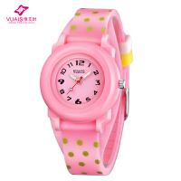 儿童手表女孩男孩防水夜光小学生手表少女童韩国时尚韩版石英手表