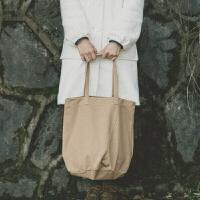 帆布包女单肩韩国新款潮冬季学院原创校园女生超大手提托特包