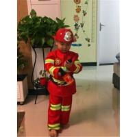 万圣节儿童演出服装Cosplay表演衣服 男童小消防员角色扮演服饰