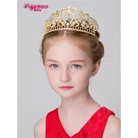 女孩公主王冠大皇冠发箍头箍 六一演出发卡儿童发饰女童头饰