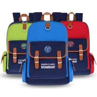 儿童书包小学生男孩1-3-6一二三年级女童6-12岁8防水减负双肩背包