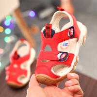 儿童新款凉鞋2018年小童防滑机能凉鞋男童女童夏季凉鞋