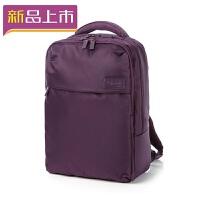2018双肩包潮寸电脑包男女时尚防水背包学生书包 紫色