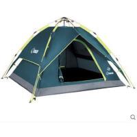 旅行自驾游帐篷防风沙牢固双层全自动帐篷户外登山野营帐篷3人多人