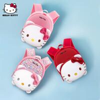 Hellokitty凯蒂猫幼儿园书包防走失背包女宝宝可爱2岁儿童双肩包1