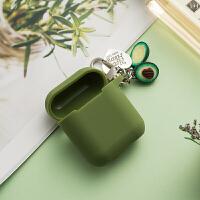 韩国ins牛油果食物iphone无线蓝牙耳机盒子壳苹果airpods保护套
