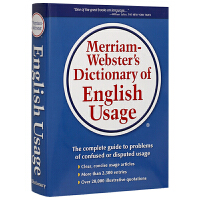 �f氏英�Z用法指南 英文原版 Merriam-Webster's Dictionary of English Usage